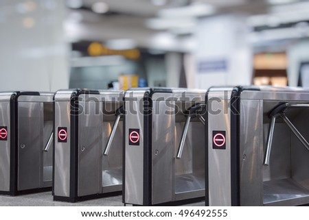 Railway Barriers Stock Images Royalty Free Images