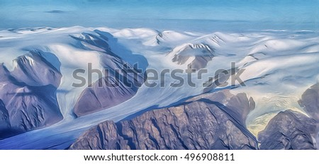 Tidal glaciers in Canadian High Arctic