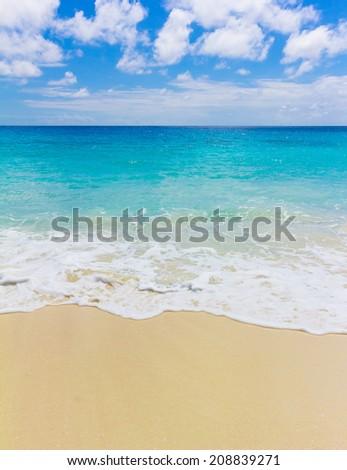 Tide Scene Waves  - stock photo