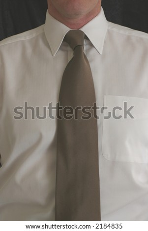 Tie, Brown, Man, Business
