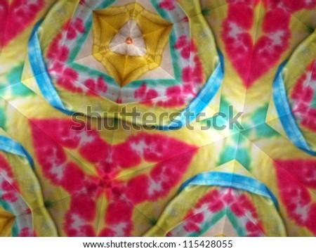 Tie dye art - stock photo