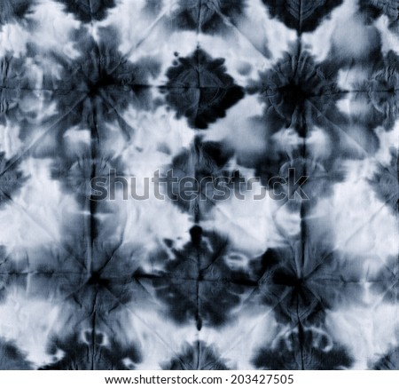 tie dye fabric texture background  - stock photo