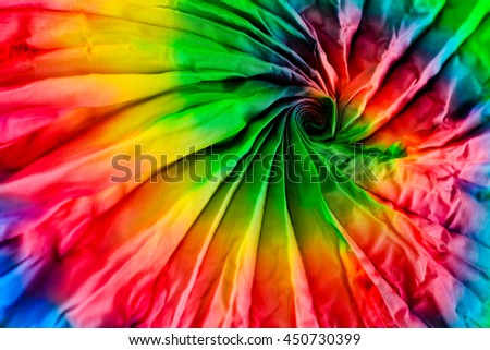 tie dye fabric with cool tie dye technical