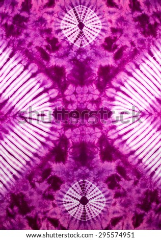 tie dye pattern - stock photo