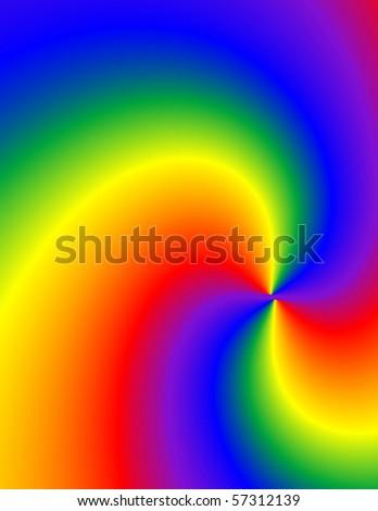 Tie dye swirl background. - stock photo