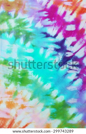 tie dyed pattern abstract background.