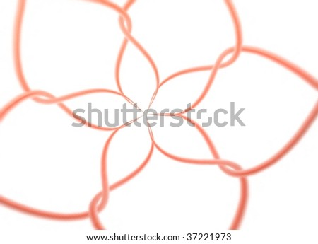 tie flower - stock photo