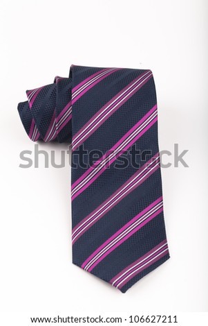tie isolated - stock photo