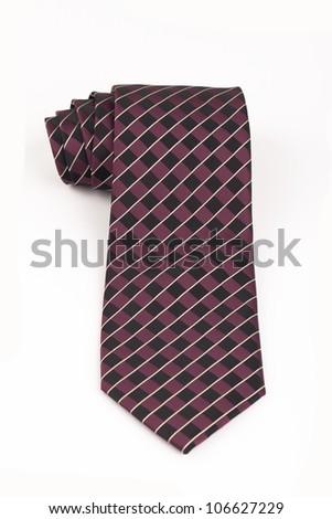 tie isolated - stock photo