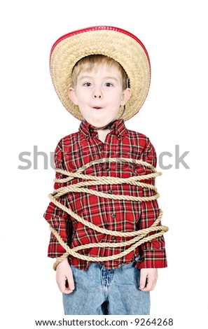 Tied Up - stock photo