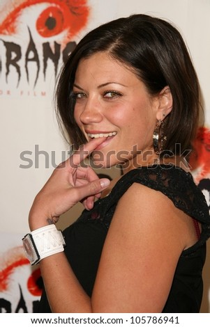Tiffany Shepis  at the Los Angeles Premiere of 'Dark Reel'. Queen Mary, Long Beach, CA. 03-15-09