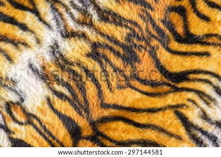 Tiger fur pattern - stock photo
