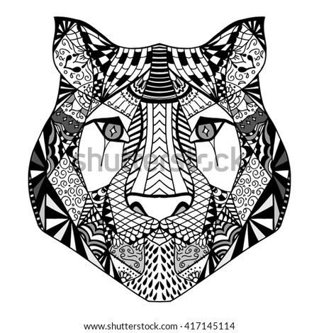 91 African Art Coloring Page