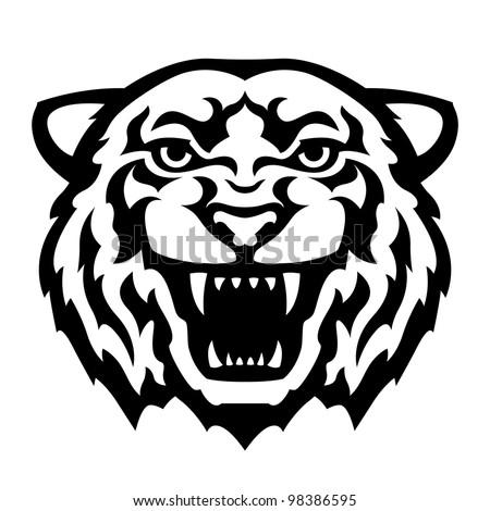 Japanese Tiger Head Tattoo Tiger Head Tattoo Stock