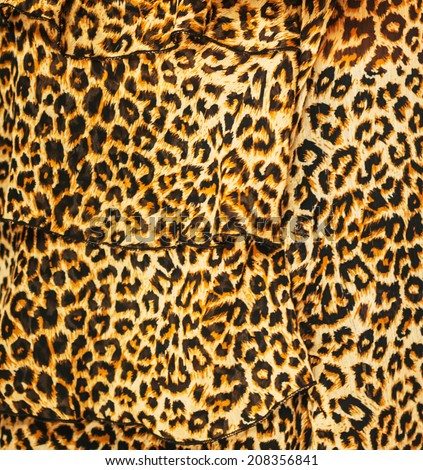 tiger pattern - design texture fabric seamless