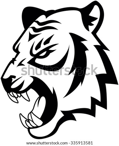Tiger Symbol illustration design