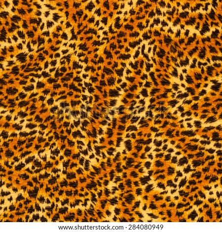 tiger yellow fur texture - stock photo