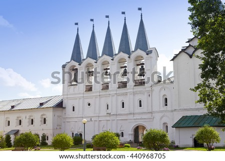 Tikhvin Assumption Monastery, a Russian Orthodox, (Tihvin, Saint Petersburg region, Russia)