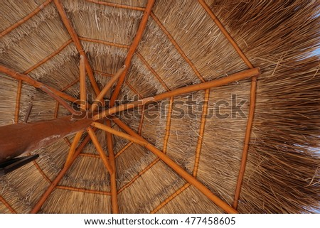Tiki Hut Roof