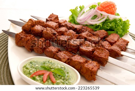 Tikka Boti-3 - stock photo