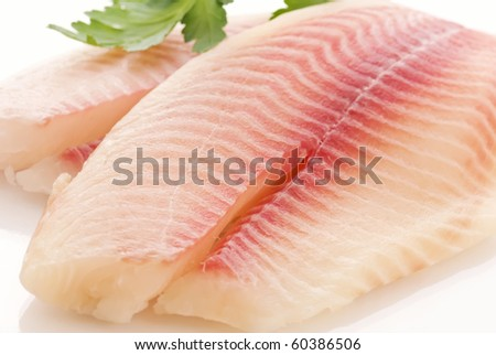 Tilapiini Fillet - stock photo