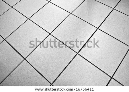 Tile floor - stock photo