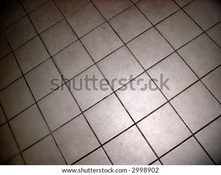 tile flooring background - stock photo