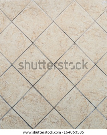Tile glossy mosaic Earthenware material background - stock photo