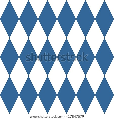 Tile pattern or blue and white wallpaper background