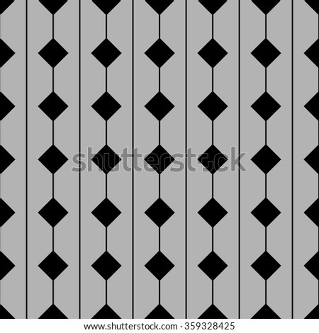 Tile pattern with grey and black background for decoration wallpaper - stock photo