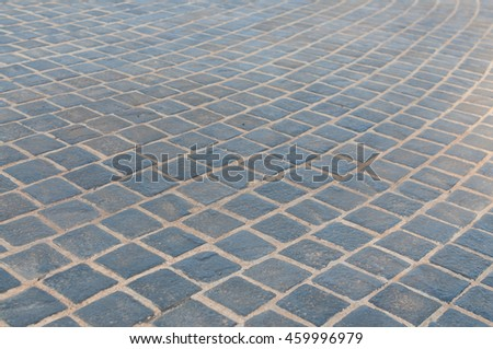 Tile pavement background.