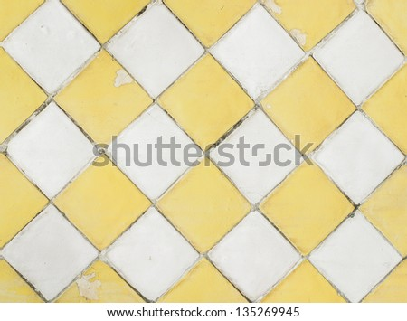 tile seamless pattern background in grunge style - stock photo