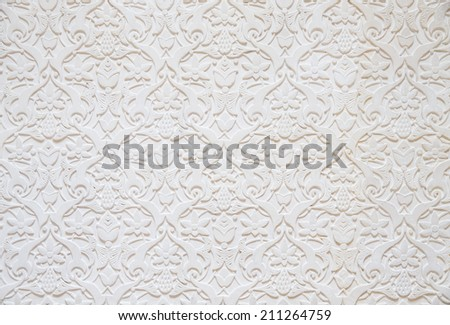 tile wall of Seamless wallpaper,background  - stock photo