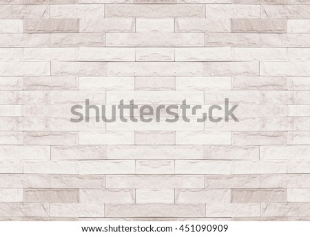 Tiled brick wall in light sepia beige black white tone texture background for interiors design home, house, building, shop, store, art, coffee shop, popular brick wall. Brick wall tile texture. office - stock photo