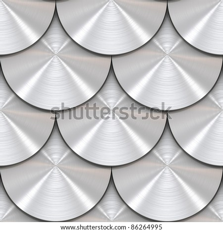 Tiling texture – scales - stock photo