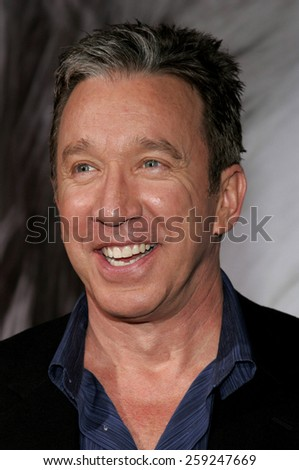 "Tim Allen attends the Walt Disney's World Premiere of ""The Shaggy Dog"" held at the El Capitan Theatre in Hollywood, California on March 7, 2006."