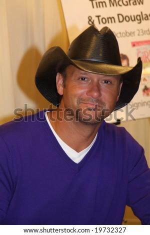 Tim McGraw - stock photo