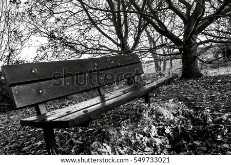 Park bench silhouette stock images royalty free images for Timber built
