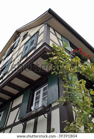 timber framed house, Gengenbach Germany