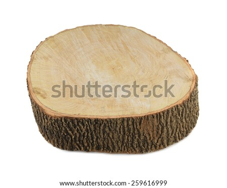 Timber isolated on white background