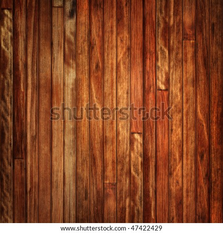 Timber wall - stock photo