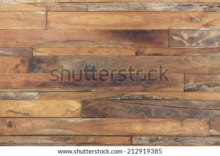 timber wood brown plank texture weathered background - stock photo