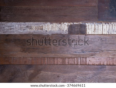 timber wood panel plank rough grain surface texture background - stock photo