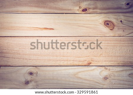 timber wood plank texture background, image used retro vintage filter - stock photo