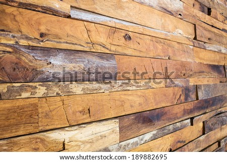 timber wood wall texture background - stock photo