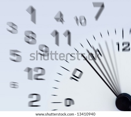 time abstract background