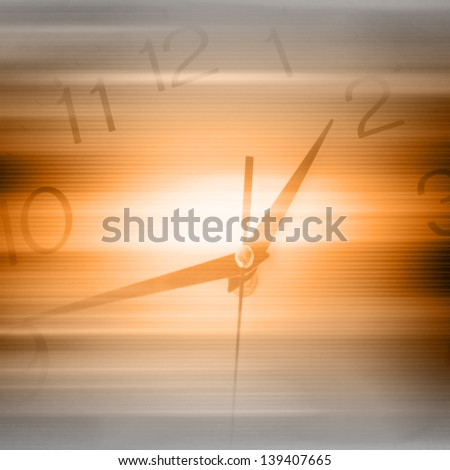 Time Concept Futuristic Background Part 2 - stock photo