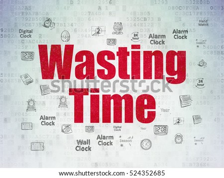 a paper on time wasting Busyness can be contagious it takes a number of people working together in an unconscious conspiracy to perpetuate too many time-wasting meetings, too much paper and useless information, too many people on the job, too complicated an organization structure, too many studies, and too little action.