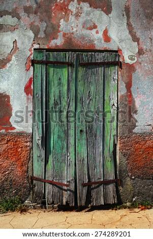 Time Door 1 - stock photo