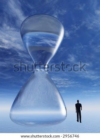 Time Escape - stock photo